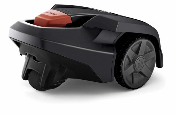 Automower 105 back side view