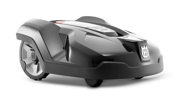 Automower 402 front side view