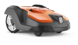 Automower 550 front side view