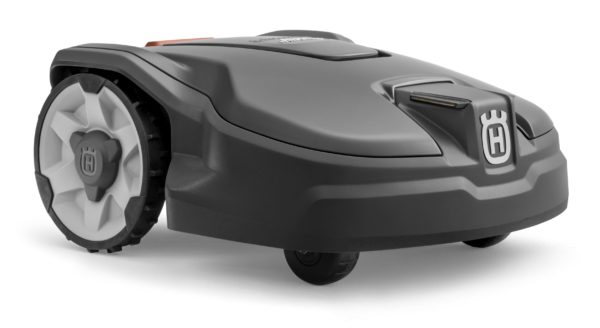 Automower 305 front side view