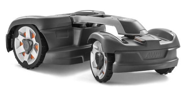 Automower 435X AWD back view