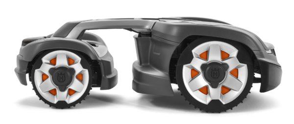 Automower 435X AWD side view
