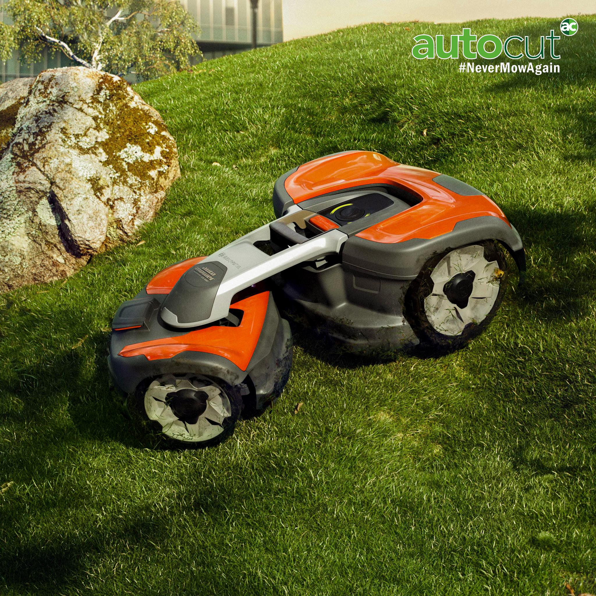 Meet the Mower: Automower® 535 AWD