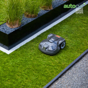 Automower 305 mowing passage