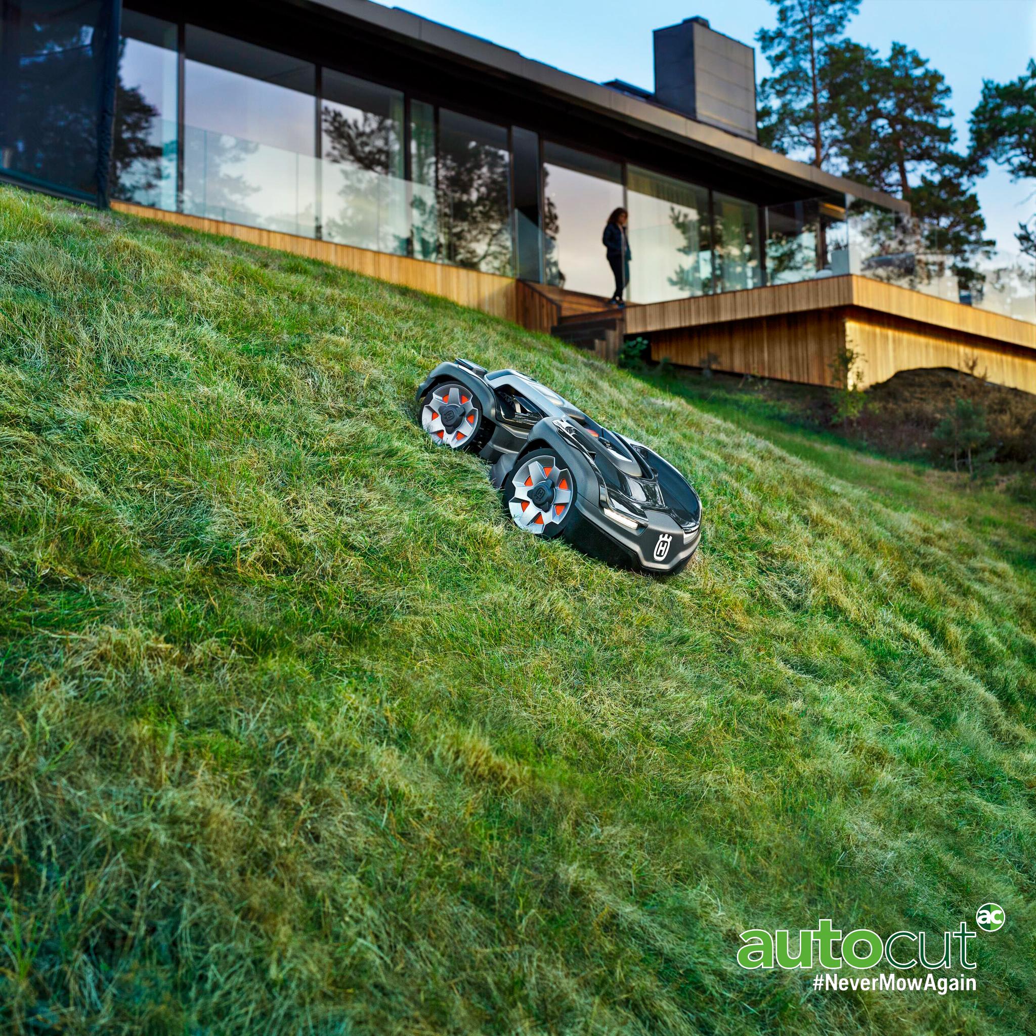 Meet The Mower: Automower® 435X AWD
