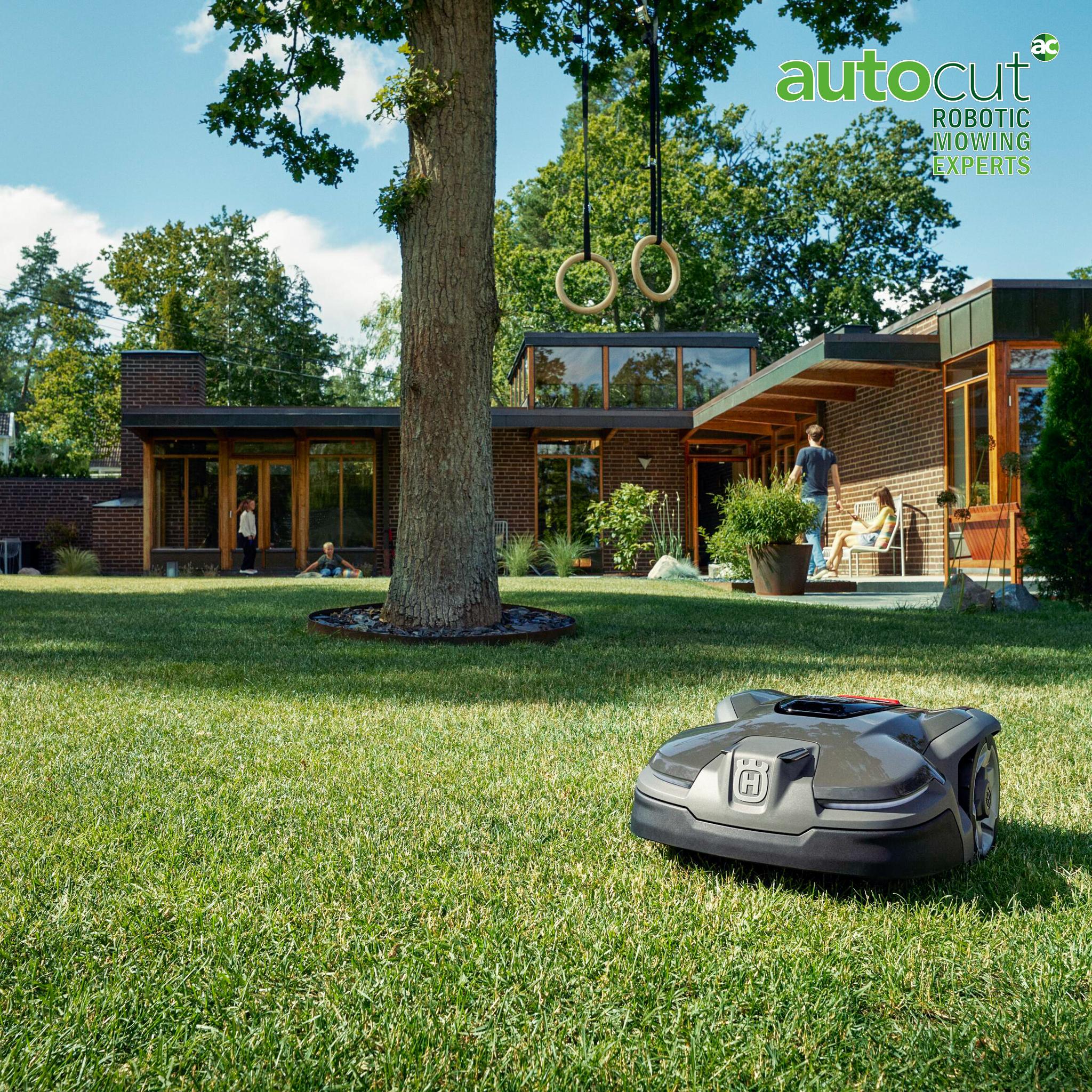 Meet the Mower: Automower® 415X